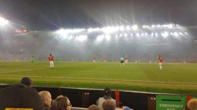 Old Trafford, section: N1408, row: DD, seat: 130