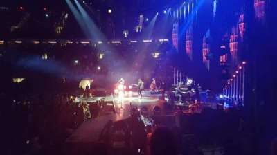 Madison Square Garden, section: 109, row: 6, seat: 2