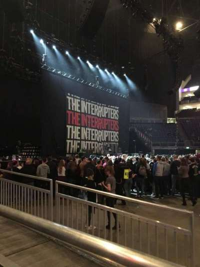 The O2 Arena, section: W101, row: W101