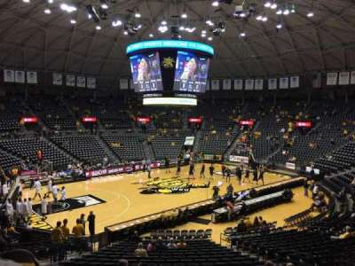 Charles Koch Arena, section: 112, row: 23, seat: 7