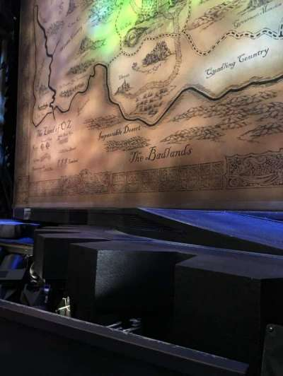 Gershwin Theatre, section: Orchestra C, row: BB, seat: 116