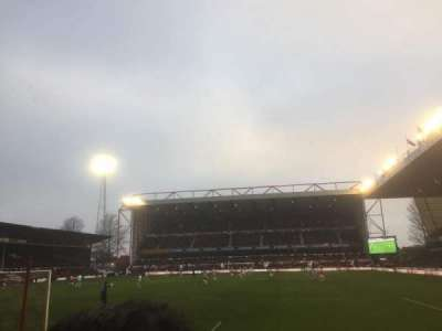 City Ground, section: X2, row: G, seat: 119