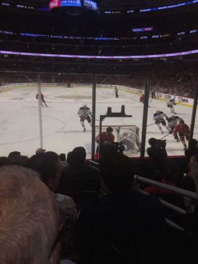 United Center, section: 117, row: 8, seat: 4