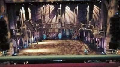 Richard Rodgers Theatre, section: Mezzanine, row: A, seat: 106