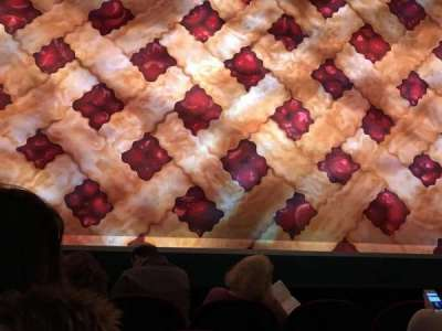 Brooks Atkinson Theatre, section: Orchestra, row: B, seat: 106