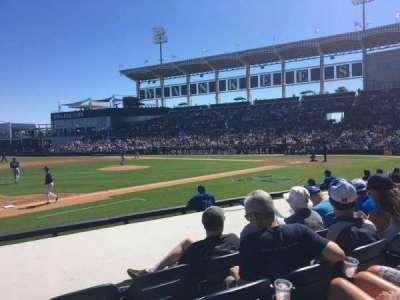 George M. Steinbrenner Field, section: 117, row: GG, seat: 9