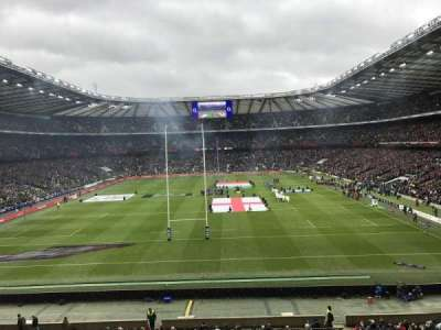 Twickenham Stadium, section: M19, row: 54, seat: 118