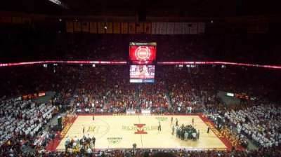 Hilton Coliseum, section: 112, row: 11, seat: 4