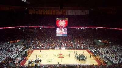 Hilton Coliseum, section: 212, row: 11, seat: 4