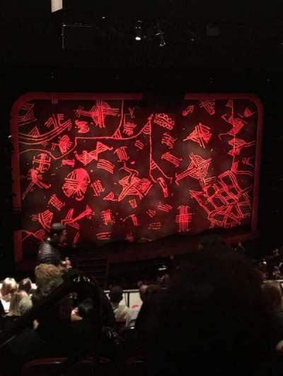 Minskoff Theatre, section: Mezz, row: G, seat: 101