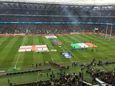 Twickenham Stadium, section: U9, row: A, seat: 220