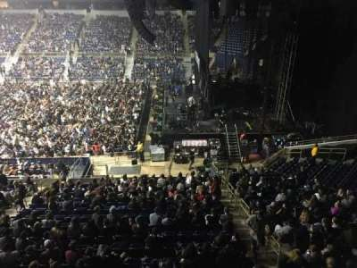 Petersen Events Center section L220
