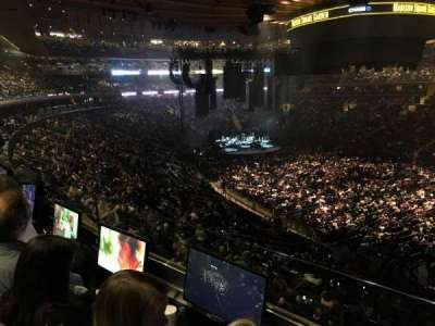 Madison Square Garden, section: 227, row: 2, seat: 13