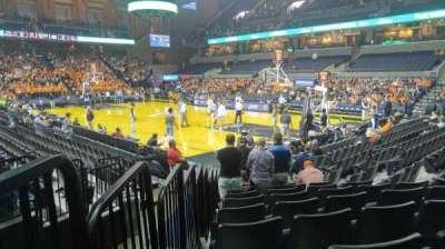 John Paul Jones Arena, section: 109, row: L, seat: 15