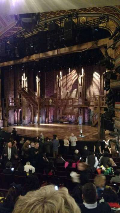 Richard Rodgers Theatre, section: Orchestra, row: P, seat: 28