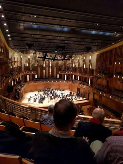 The Music Center at Strathmore, section: Grand Tier Left, row: D, seat: 3