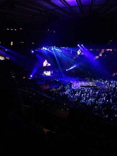 Madison Square Garden, section: 227, row: 4, seat: 4