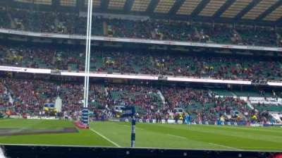 Twickenham Stadium, section: L29, row: 2, seat: 315