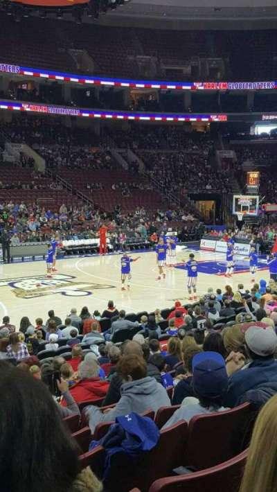 Wells Fargo Arena, section: 111, row: 113, seat: 2