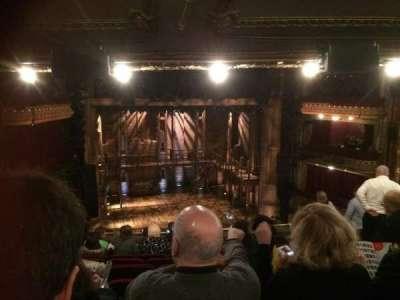 PrivateBank Theatre, section: Mezzanine LC, row: K, seat: 321