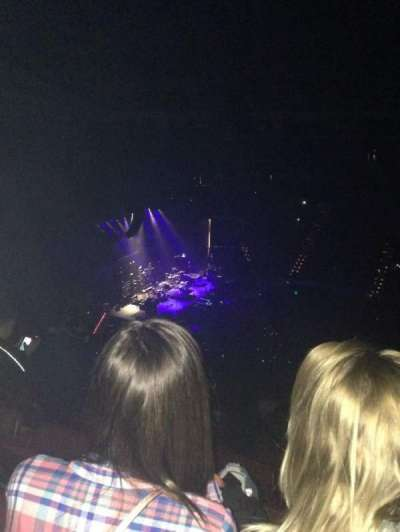 Verizon Arena, section: 221, row: 17, seat: 4