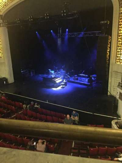 Orpheum Theatre (Boston), section: Mezzanine, row: A, seat: 4