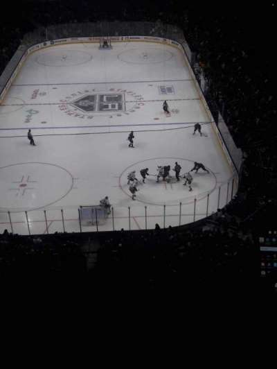 Staples Center, section: 309, row: 3, seat: 10