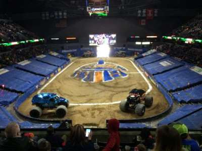 Van Andel Arena, section: 201, row: F