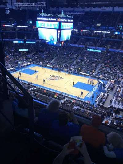 Chesapeake Energy Arena, section: 306, row: D, seat: 14