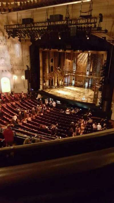 Orpheum Theatre (San Francisco), section: balcony, row: a, seat: 20