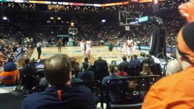 Barclays Center, section: 1, row: 5, seat: 14