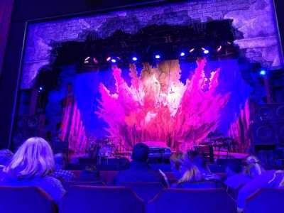 Oriental Theatre, section: Orchestra C, row: E, seat: 114