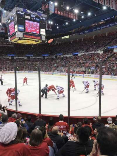 Joe Louis Arena, section: 103, row: 6, seat: 3
