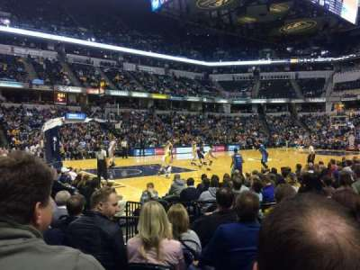 Bankers Life Fieldhouse, section: 18, row: 10, seat: 5