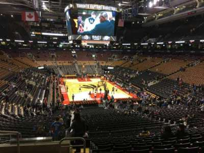 Air Canada Centre, section: 103, row: 30, seat: 20