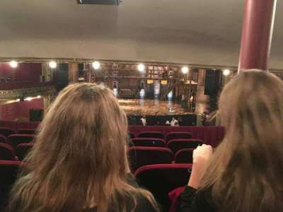PrivateBank Theatre, section: Dress circle center, row: F, seat: 209