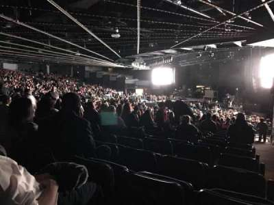 The Theatre at Madison Square Garden, section: 206, row: T, seat: 16
