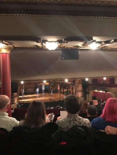 PrivateBank Theatre, section: Dress Circle LC, row: G, seat: 237