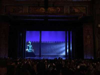 Pantages Theatre (Hollywood), section: Orchestra C, row: NN, seat: 106