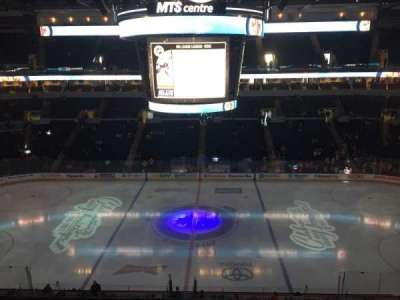 MTS Centre, section: 320, row: 2, seat: 17