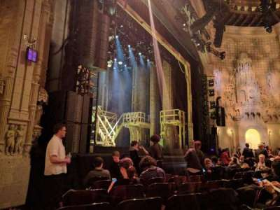 Orpheum Theatre (San Francisco), section: Orchestra, row: H, seat: 19