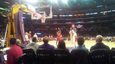 Staples Center section 115