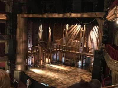 PrivateBank Theatre, section: Mezzanine-R, row: D, seat: 14