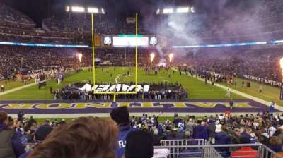 M&T Bank Stadium, section: 140, row: 23, seat: 1
