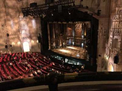 Orpheum Theatre (San Francisco), section: Balcony, row: AA, seat: 8