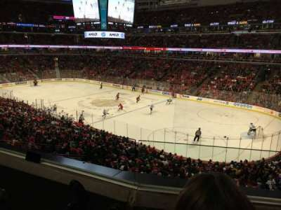 United Center, section: 231, row: 2, seat: 7