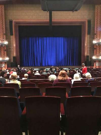 Walt Disney Theatre - Dr. Phillips Center, section: Orchestra, row: W, seat: 114