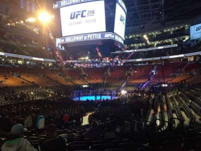 Air Canada Centre, section: 112, row: 16, seat: 12