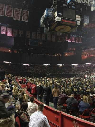 Joe Louis Arena, section: 104, row: 3, seat: 3