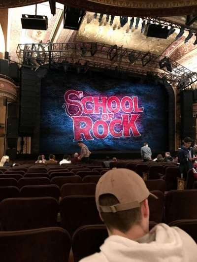 Winter Garden Theatre, section: ORCH, row: S, seat: 05